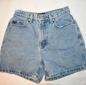Ralph Lauren high wasted mom jean shorts